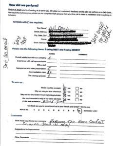 Bill Davis Redacted Contact Info