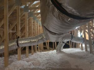 Attic Insulation Tulsa Affordable Duct Encapsulation 001
