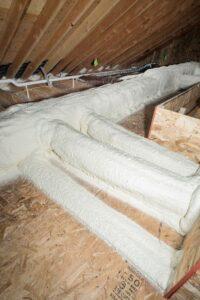Attic Insulation Tulsa Affordable Duct Encapsulation 002