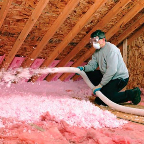 Blown In Fiberglass Insulation Tulsa